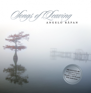 Songs of Leaving - by Angelo Rapan- front cover